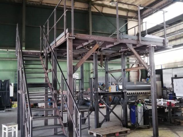 Výroba amontáž ocelových konstrukcí