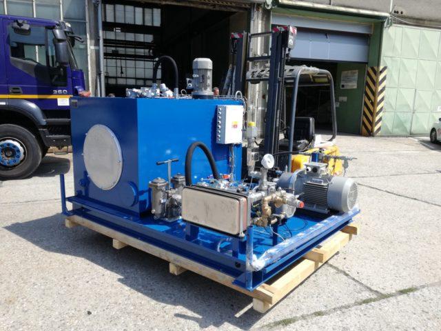 Výroba amontáž hydraulických agregátů